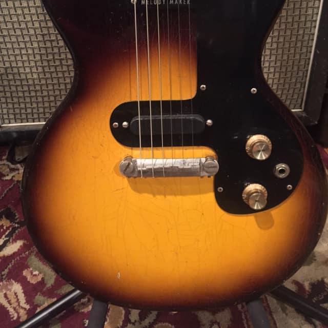 1962 Gibson  Melody Maker Tobacco Burst image