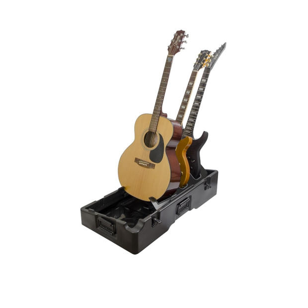gator gig box 2 all in one pedal board and 3x guitar stand combo case reverb. Black Bedroom Furniture Sets. Home Design Ideas