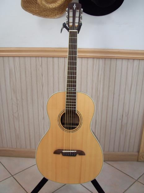 alvarez ap70 2015 parlor guitar natural with new h s case reverb. Black Bedroom Furniture Sets. Home Design Ideas