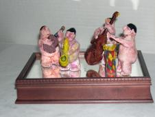 """""""Calypso Band - Playing for Exposure"""" - Sculpture image"""
