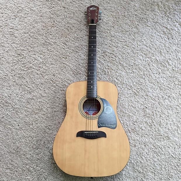 oscar schmidt washburn natural acoustic guitar for sale reverb. Black Bedroom Furniture Sets. Home Design Ideas