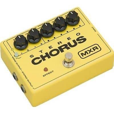 dunlop mxr m134 stereo chorus electric guitar effect pedal reverb. Black Bedroom Furniture Sets. Home Design Ideas