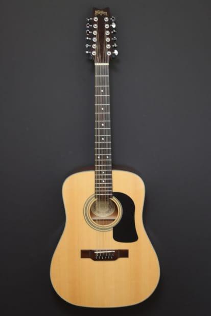 washburn d12s 12 twelve string acoustic dreadnought guitar reverb. Black Bedroom Furniture Sets. Home Design Ideas