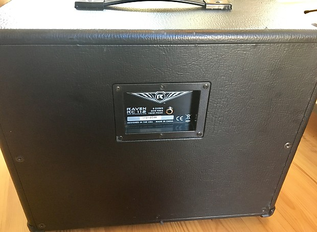 raven rc112 1x12 speaker cabinet unloaded empty ready for reverb. Black Bedroom Furniture Sets. Home Design Ideas