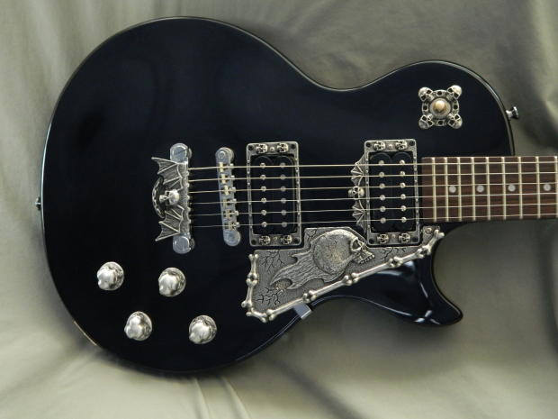 10 skull guitar parts for gibson and epiphone les paul guitar solid metal hand made custom reverb. Black Bedroom Furniture Sets. Home Design Ideas