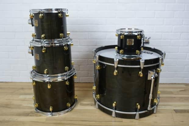 yamaha maple custom 5 piece drum set kit awesome used drums reverb. Black Bedroom Furniture Sets. Home Design Ideas