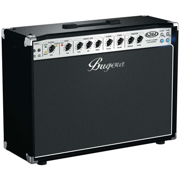 new bugera 6260 peavey 5150 6505 120w 2x12 2 channel tube reverb. Black Bedroom Furniture Sets. Home Design Ideas