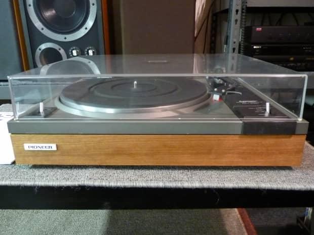 Pioneer Pl 112d Restored Manual Turntable Real Wood