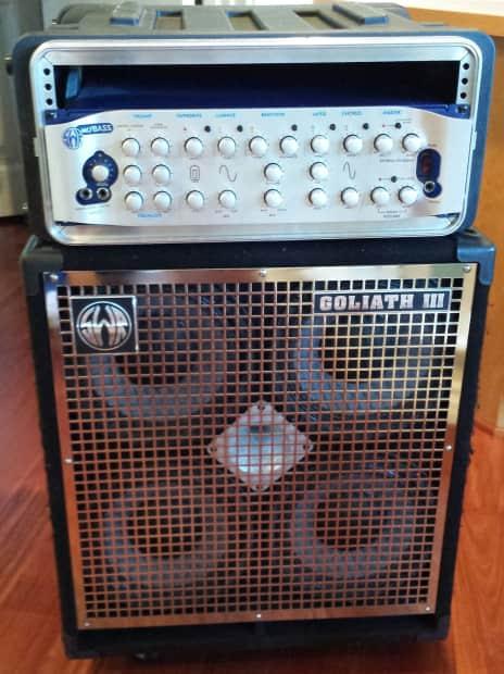 Swr Goliath Iii Cabinet Amp Mo Bass Amp Head 2003 Reverb