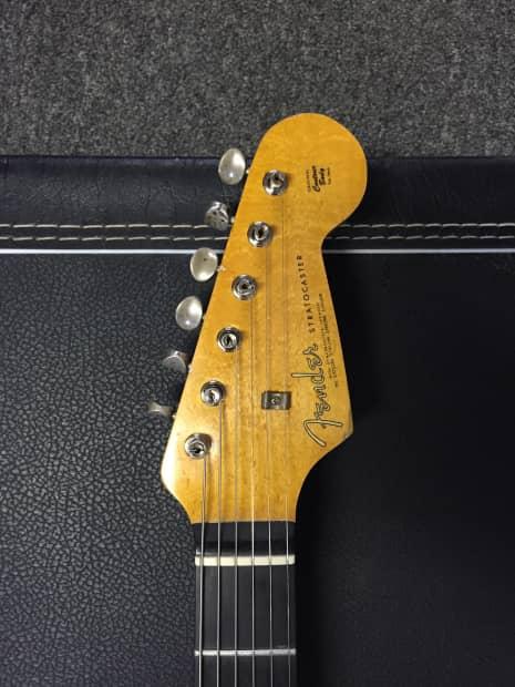 Vintage Fender Lights : Vintage fender stratocaster light relic roadworn