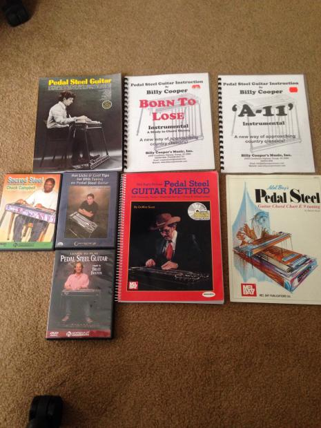 Pedal Steel Guitar Instructional Books Dvds Reverb