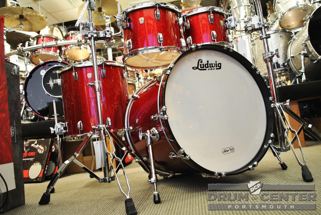 Fund ensures Ludwig vintage drum set make