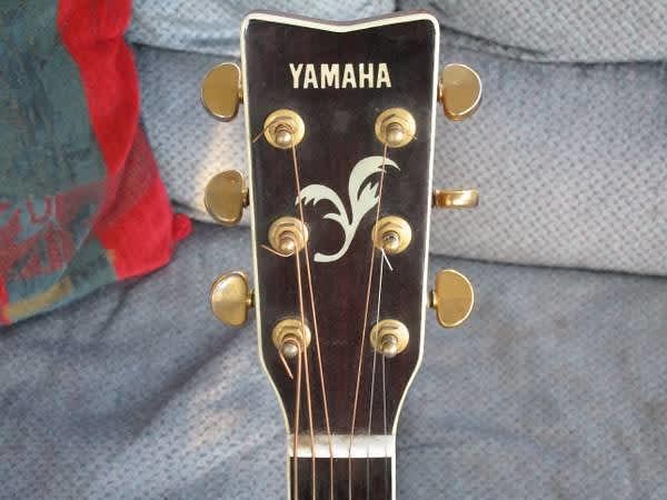 Yamaha fg 460 sa vintage acoustic guitar solid top fg460 for Yamaha fg830 specs