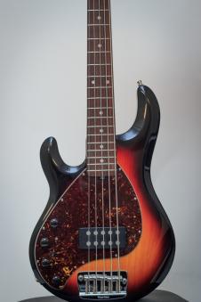 Music Man Stingray 5 - Left Handed 2004 2 Tone Sunburst - Matching HS image