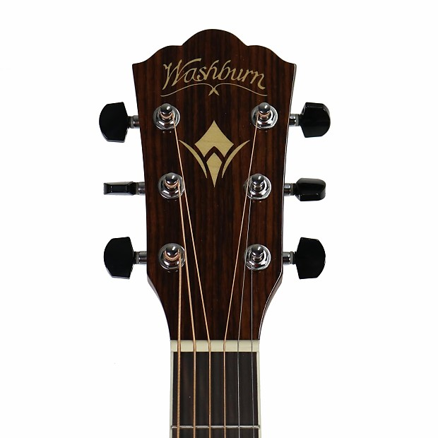 brand new washburn hd20sce dreadnought acoustic electric reverb. Black Bedroom Furniture Sets. Home Design Ideas