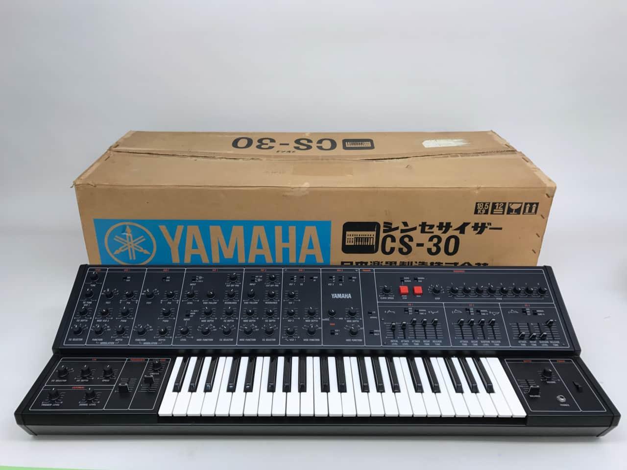 Vintage yamaha cs 30 keyboard synthesizer in near mint for Yamaha synthesizer keyboard
