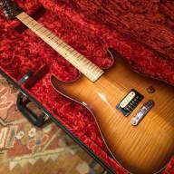 Fender Custom Showmaster Telecaster 2001 Vintage Sunburst Flamed for sale