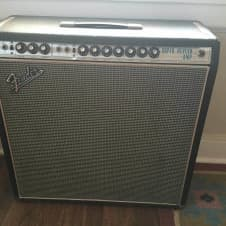 Fender Super Reverb 1968 Black Silverface Dripedge Vintage Original Transformer image