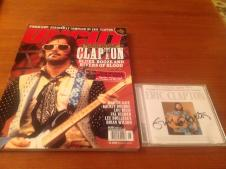 Uncut magazine  Eric Clapton w/ cd 2004 image