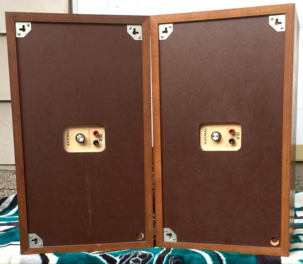Vintage Pair Dynaco A 25 Aperiodic Speakers Mid Century