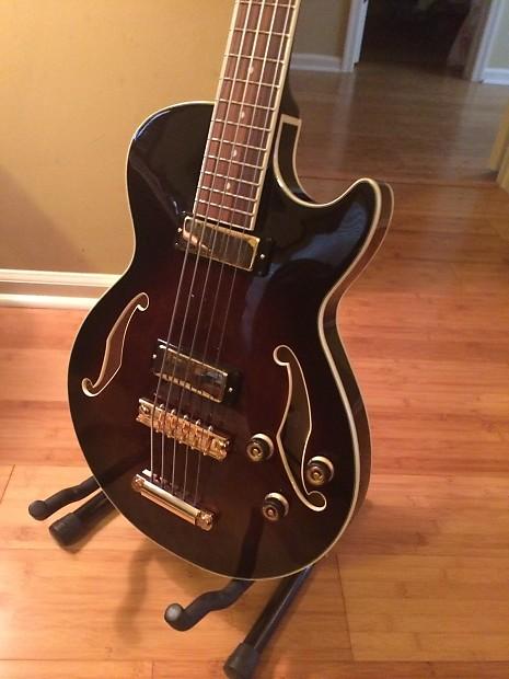 ibanez artcore bass abg 205 eadgc tuning pickup blend knob reverb. Black Bedroom Furniture Sets. Home Design Ideas