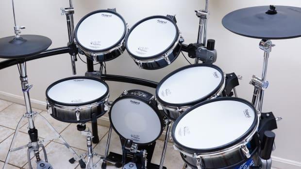 Roland V Pro Td 20 Electronic Drum Set Plus Extras Hi Hat