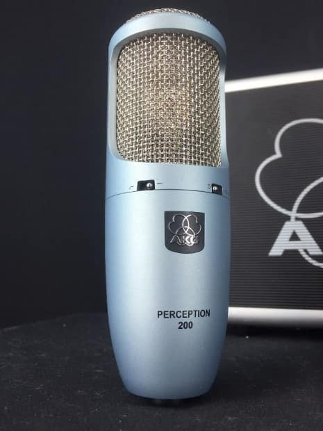 akg perception 200 condenser cable professional microphone reverb. Black Bedroom Furniture Sets. Home Design Ideas