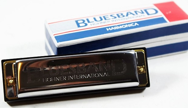 hohner blues band harmonica key of c reverb. Black Bedroom Furniture Sets. Home Design Ideas