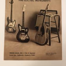 Fender Price List February, 1965 Catalog Telecaster Stratocaster Jazzmaster Jaguar image