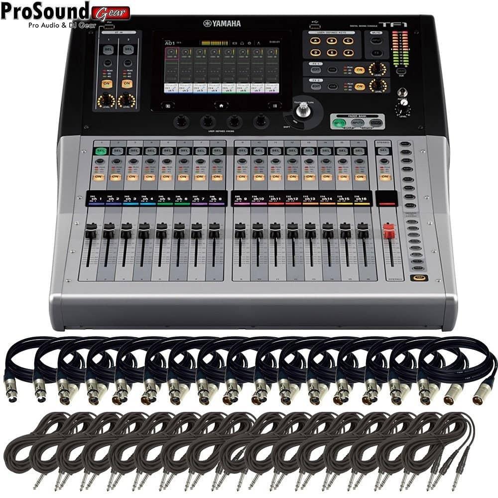 Yamaha tf1 16 channels digital mixing console free 16 for Yamaha digital console