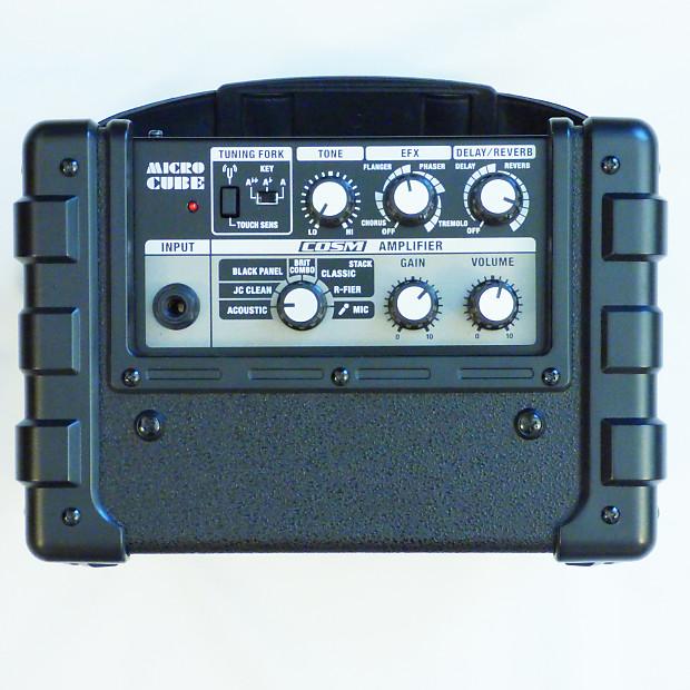 roland micro cube amplifier n225 portable mini guitar reverb. Black Bedroom Furniture Sets. Home Design Ideas