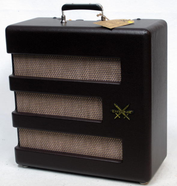 fender pawn shop excelsior 1x15 tube amplifier combo nos full warranty reverb. Black Bedroom Furniture Sets. Home Design Ideas