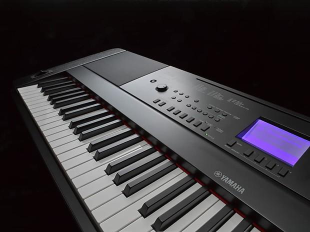 Yamaha dgx 660 portable grand digital piano black key for Yamaha 660 keyboard
