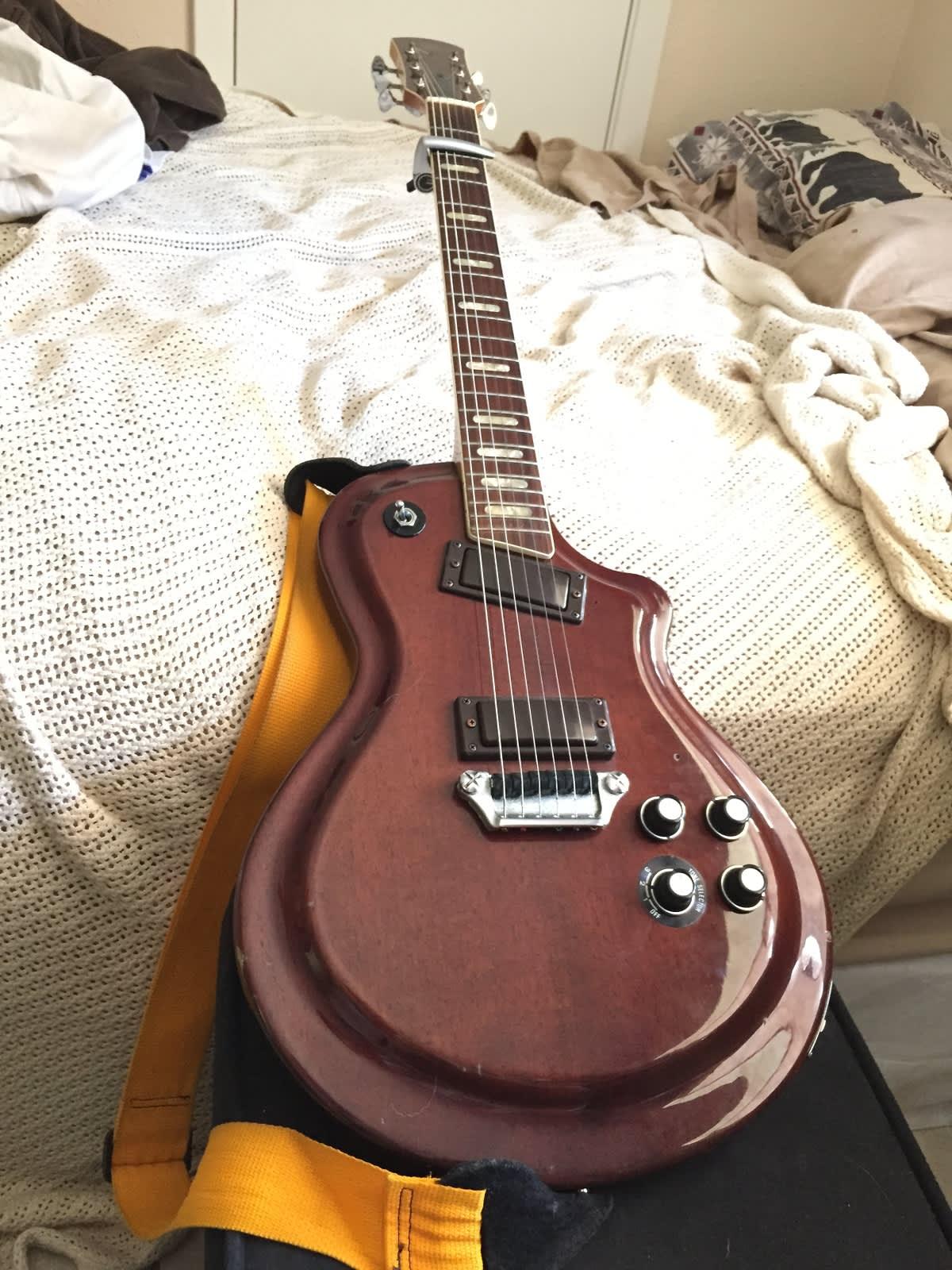 1970s Yamaha Sg 60 Electric Guitar Reverb