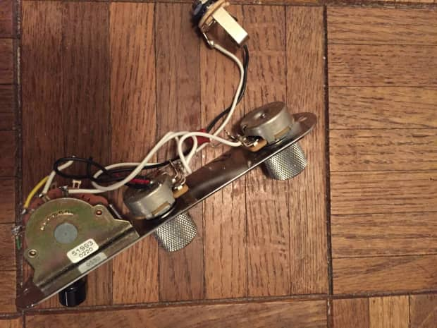 fender nashville telecaster control plate 5 way switch wiring reverb. Black Bedroom Furniture Sets. Home Design Ideas