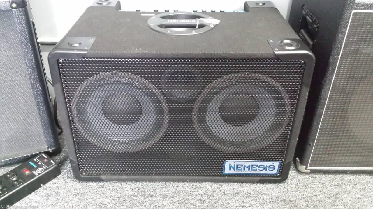 eden nemesis 250 2x10 electric bass guitar combo amplifier reverb. Black Bedroom Furniture Sets. Home Design Ideas