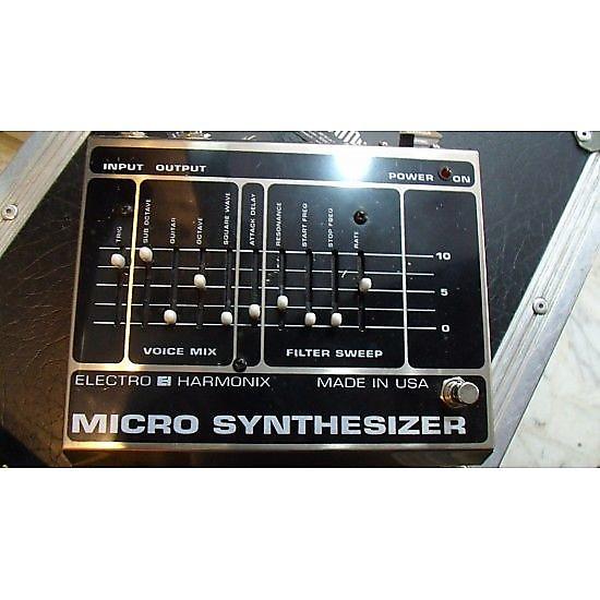 electro harmonix micro synth reverb. Black Bedroom Furniture Sets. Home Design Ideas