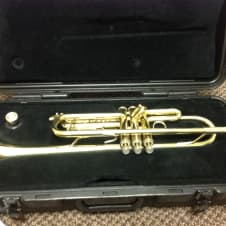 Selmer Bach  TR 300 Student Trumpet Serial #E26543 Brass image
