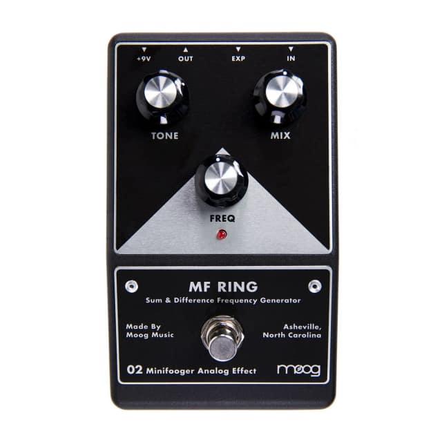Moog Minifooger MF-Ring Ring Modulator Guitar Effects Pedal image