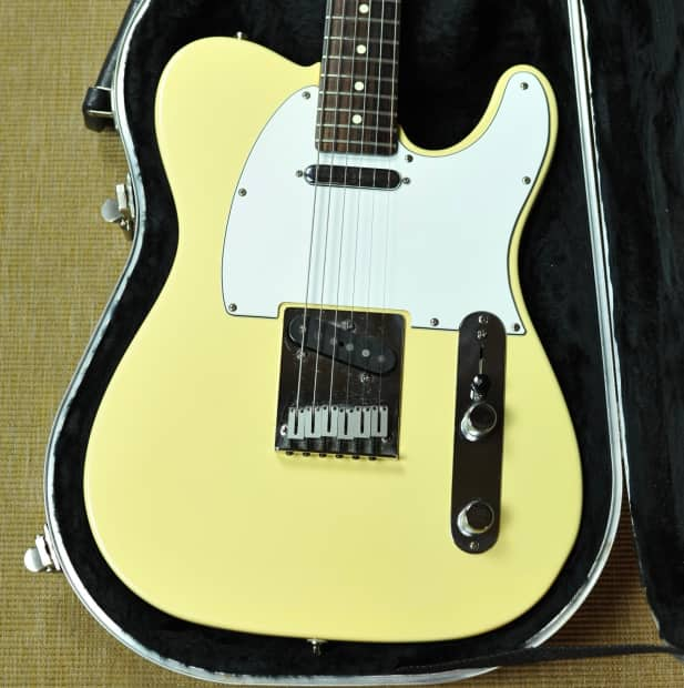 Agree, the American standard telecaster vintage white apologise, but
