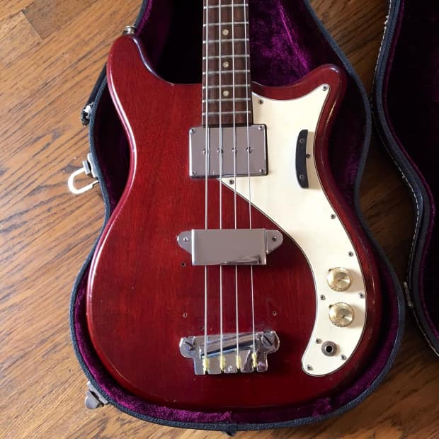vintage epiphone newport bass guitar c 1965 cherry original reverb. Black Bedroom Furniture Sets. Home Design Ideas