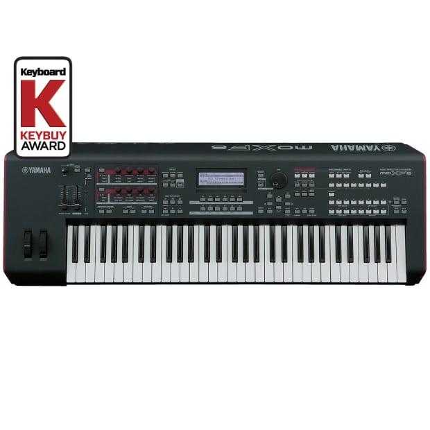 yamaha moxf 6 61 key synthesizer used reverb