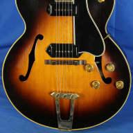<p>Gibson ES-350 ES350 Electric Guitar w/OHSC Flamed Back &amp; Sides Spruce Top 1954 Sunburst</p>  for sale