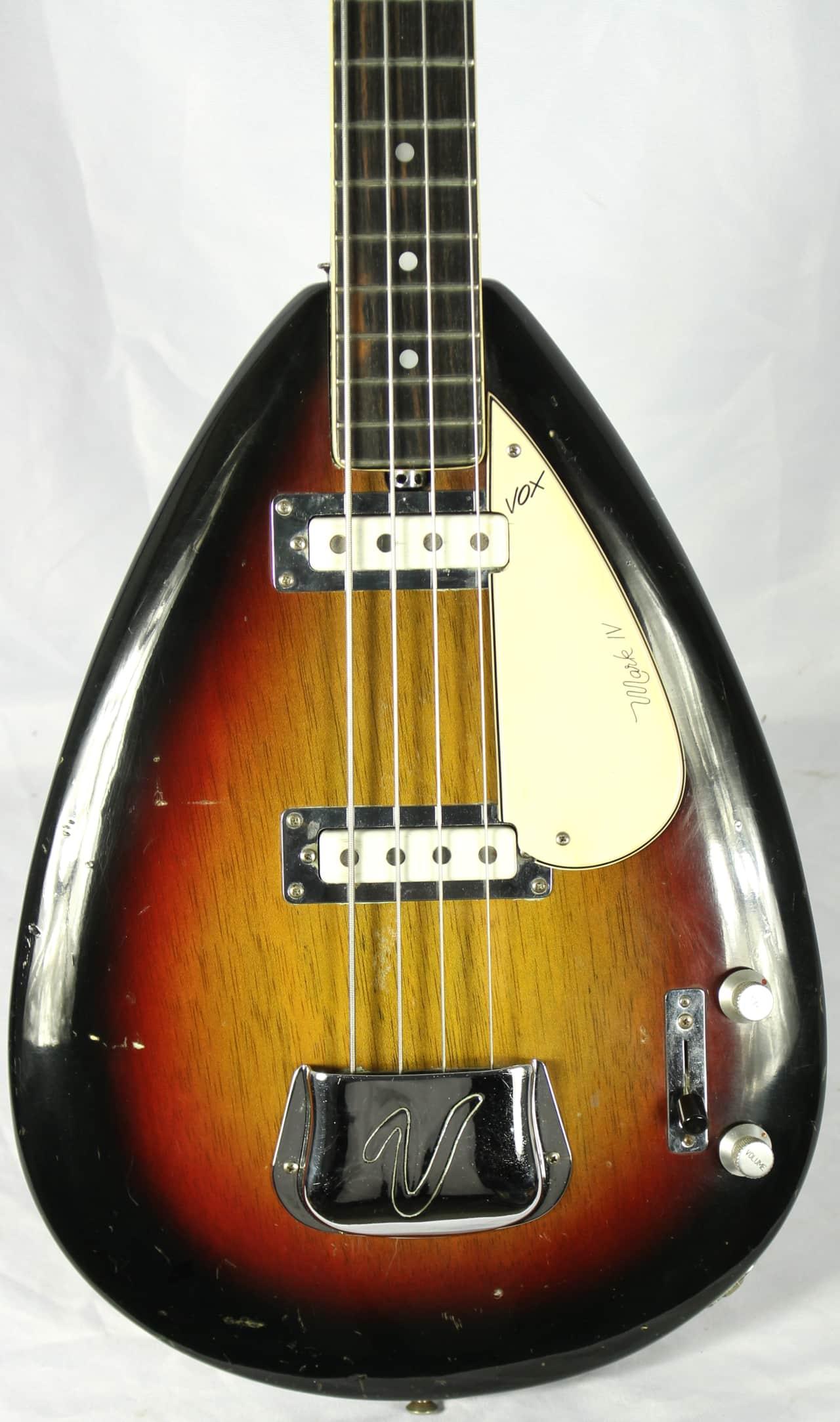 vox mark iv 4 string electric bass guitar w ohsc 1960 39 s reverb. Black Bedroom Furniture Sets. Home Design Ideas