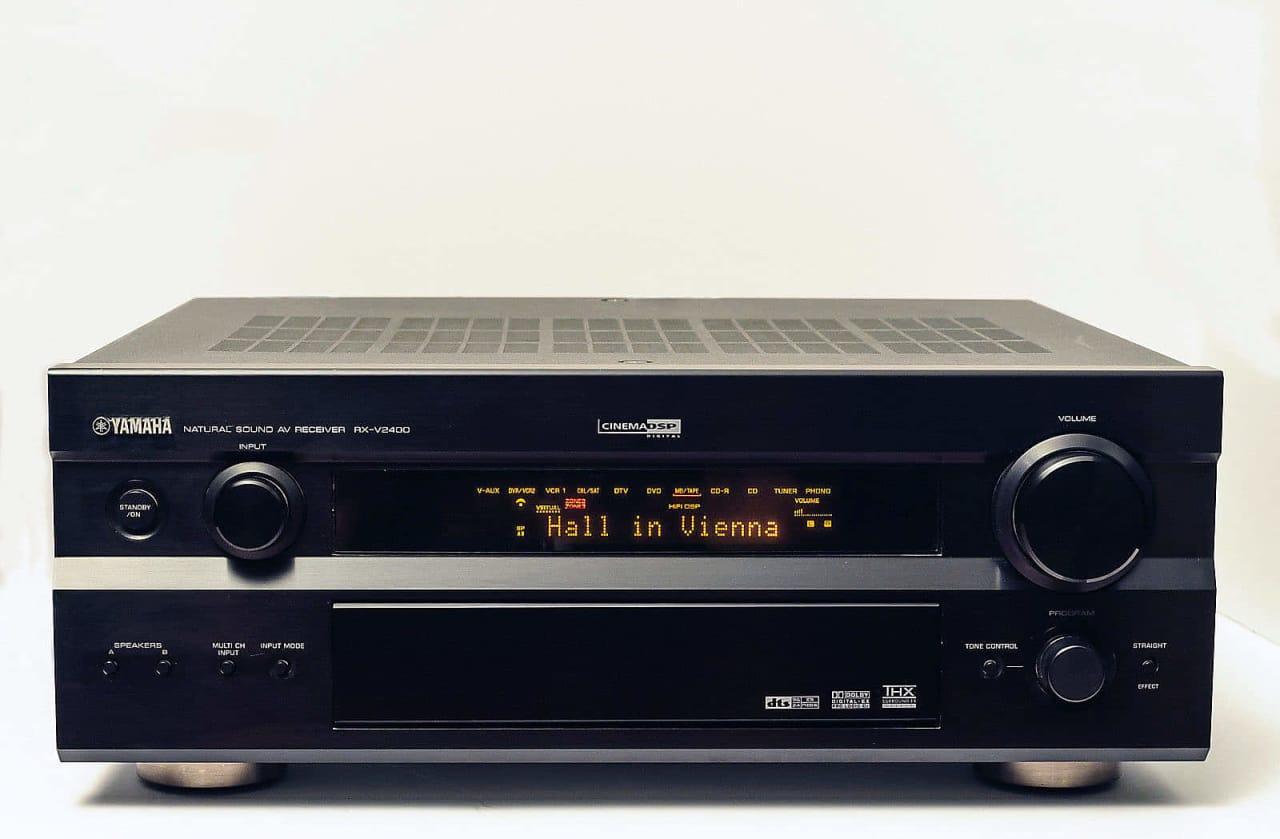 Yamaha rx v2400 7 1 channel av receiver nice sale for Yamaha rx v450 av receiver price