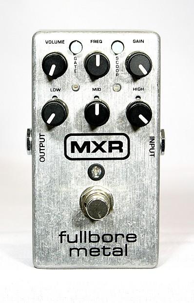 new mxr fullbore metal hi gain overdrive distortion guitar reverb. Black Bedroom Furniture Sets. Home Design Ideas