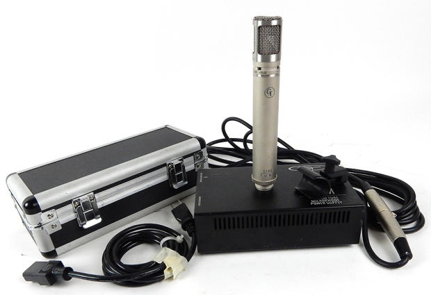 Groove Tubes Gt44 Small Diaphragm Tube Mic Microphone With