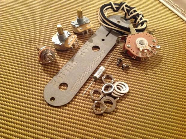 Motown Auto Parts >> Motown Mojo Telecaster Wiring Harness Upgrade DIY Kit. Pot's | Reverb