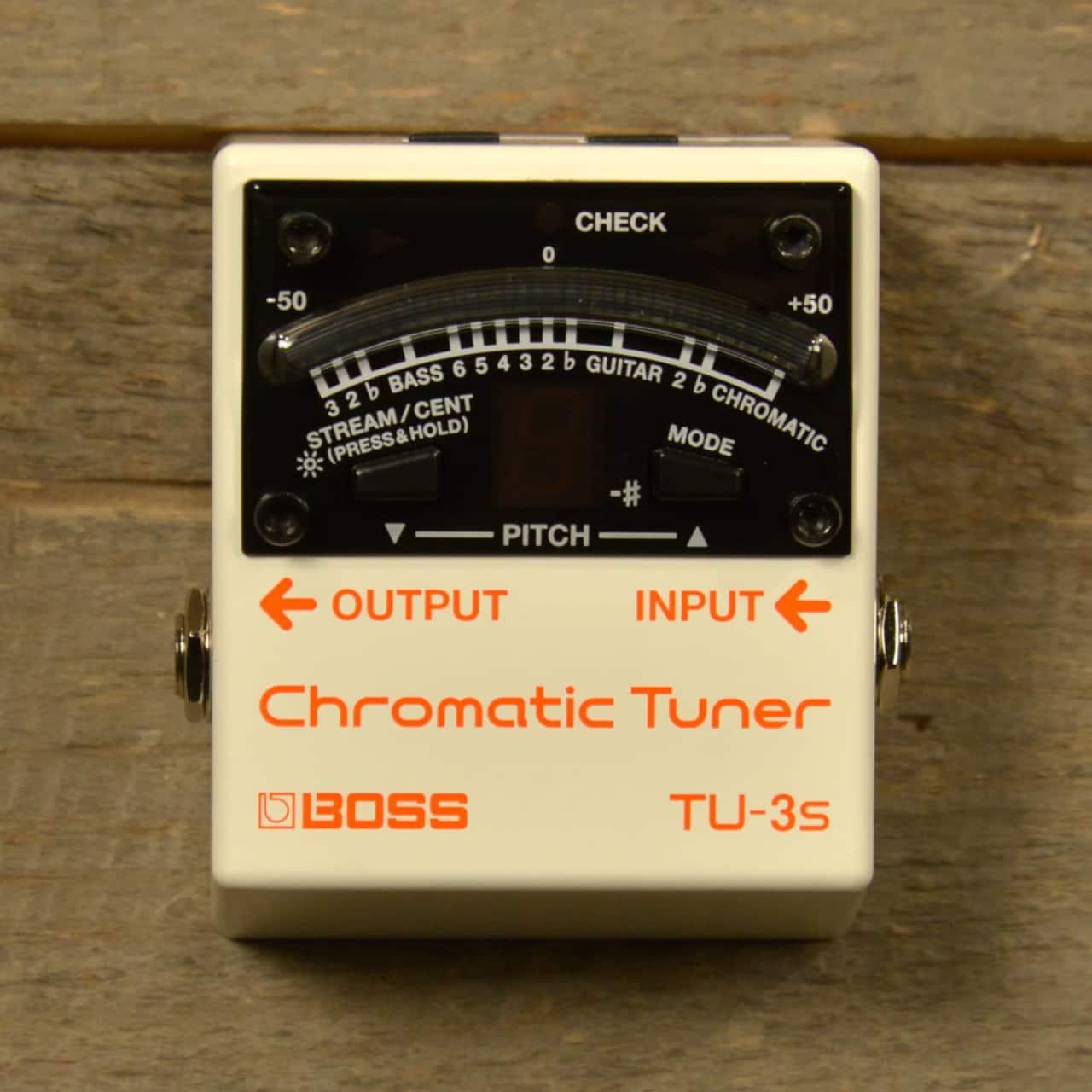 Tu: Boss TU-3S Chromatic Tuner USED