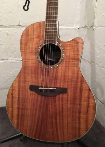 ovation celebrity cs24p fkoa koa acoustic electric guitar tuner pre amp eq 6589 reverb. Black Bedroom Furniture Sets. Home Design Ideas